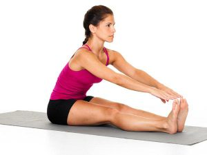 Hamstring-Stretches